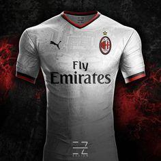 Puma Camiseta Futbol AC Milan Segunda 2018-2019 926a18dfa0044