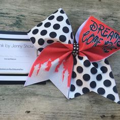 NEW cheer bows at www.Facebook.com/bowchikbyjennyshaw #Facebook #Pinterest #Instagram #Etsy #Twitter $17.50 shipped #Disney