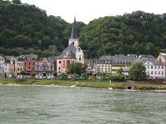 St. Goar - Germany - Rhein river
