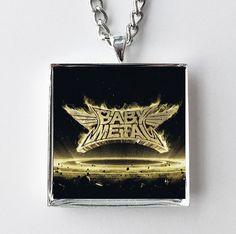 BabyMetal - Metal Resistance- Album Cover Art Pendant Necklace