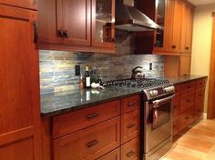 Cherry Wood Cabinets with Granite luxury nuance of Cherry