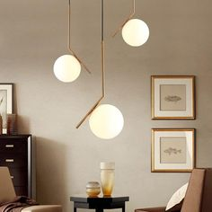 Modern Glass Ball Wall Lamps led Bedside Reading LED Lamp White Globe Wall Lights Indoor Home Decoration Lighting Luminaire _ {categoryName} - AliExpress Mobile Version - Decor, Pendant Lighting, Pendant Lamp, Minimalist Decor, Ceiling Pendant Lights, Dining Room Decor, Home Decor, Ceiling Lights, Edge Lighting
