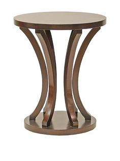 Palecek Weston Side Table, Mahogany