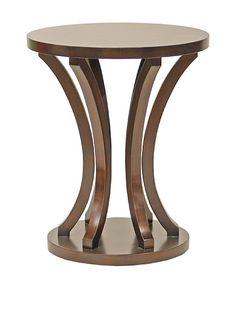 Palecek Weston Side Table, Mahogany