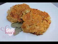 Crab cakes that can made on the grill or stove top! I have a sweet, and very persistent, subscriber on Youtube that has been asking me to make crab cakes for a while now. Since she has been very patient with me ( well kind of, LOL!), I decided to throw some crab cakes on the grill and record them... YES - I grilled