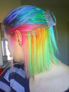 Rainbow Hair ♡