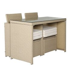 Amazon.com : Cloud Mountain 5 PC Cushioned Outdoor Rattan Wicker Furniture Set…