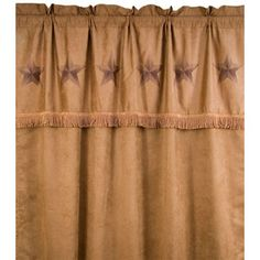 Country western decor curtains