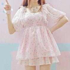 Pastel Princess Dolly Dress