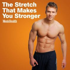 If you do it right, you'll instantly increase your gains. The stretch that will make you stronger.