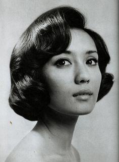 昭和40年代のヘアースタイル  ロング
