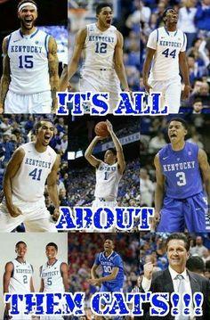 We Dem Boys! Wildcats 2015 Love my Cats! University Of Ky Basketball, Kentucky College Basketball, Uk Wildcats Basketball, Kentucky Sports, Basketball Is Life, Basketball Coach, Basketball Players, Football, American Football