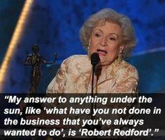 o Betty...