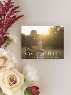 Marsala Blooms Photo Wedding Save the Date Cards Luxury Wedding Invitations, Elegant Invitations, Wedding Stationary, Unique Save The Dates, Wedding Save The Dates, Save The Date Magnets, Save The Date Cards, Engagement Ideas, Wedding Engagement