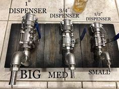 Stainless Steel Liquor Dispenser Valve ONLY by PRIMOBARS on Etsy