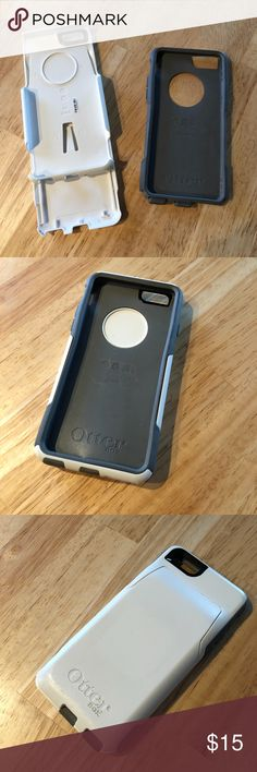 iPhone 6 Otter Box Case Has a credit card holder attached. In perfect condition. Great protection OtterBox Accessories Phone Cases