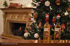 Λικέρ μανταρίνι. - To Cafe tis mamas Xmas, Christmas Tree, Spirit, Holiday Decor, Home Decor, Christmas, Teal Christmas Tree, Navidad, Room Decor