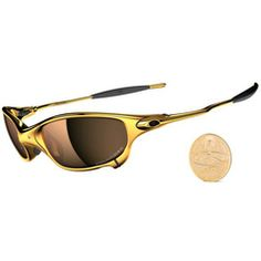 DOUBLE-X: Limited 24K/Titanium Iridium Polarized Óculos de sol Oakley
