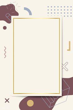 Powerpoint Background Design, Poster Background Design, Geometric Background, Background Patterns, Vector Background, Memphis Design, Instagram Frame, Story Instagram, Certificate Design Template