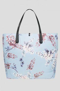 Květovaná city kabelka