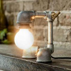 Kozo Lamp x Iron Lamps