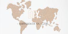 DIY | La mappemonde en liège !