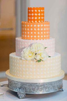 This mod ombré cake.
