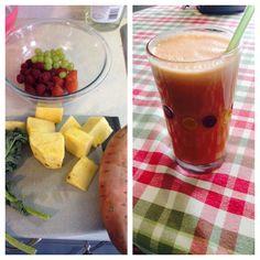 Favourite juice ! Juice Smoothie, Smoothies, Healthy Treats, Juicing, Healthy Sweet Treats, Smoothie, Juices, Healthy Snack Foods, Juice