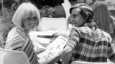 Johan Cruyff y Danny Coster ,Alemania 1974.
