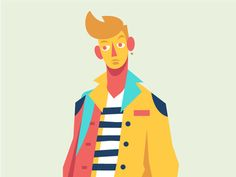 Boy, alt. by Ricky Linn - Dribbble