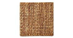 Durable, textural, and full of natural appeal, these square place mats are woven entirely of water hyacinth.