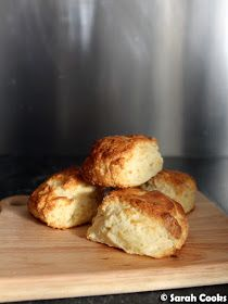 Today's recipe is a teeny-tiny batch of four scones to serve two people! (Or one hungry person, no judgement). They can be made super quick. Today's Recipe, Recipe Today, Best Pie, Just Bake, Tray Bakes, Scones, Baked Goods, Oven, Baking