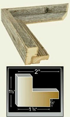 Diy frame from pallets wood