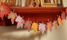 Fall Décor in a Snap with Nevermore. What a quick and easy way to create a beautiful banner to help celebrate the coming of fall! Thanksgiving Banner, Thanksgiving Projects, Fall Banner, Diy Banner, Holiday Banner, Banner Ideas, Fall Projects, Halloween Themes, Halloween Decorations