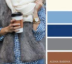 20 warm colour combinations for your autumn wardrobe Farbpalette: braun, blau, grau, beige warm colour combinations for your autumn wardrobe Colour Combinations Fashion, Color Combinations For Clothes, Fashion Colours, Colorful Fashion, Colour Schemes, Color Trends, Color Combos, Colour Match, Colour Palettes