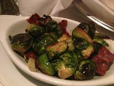 Ruth Chris Steakhouse Copycat Recipes - Roasted Brussel Sprouts