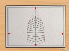 Perspective drawing is a drawing technique used to illustrate dimension through a flat surface. There are many forms used under perspective drawing such as, one perspective, two-point perspective, three-point perspective, bird's eye view, worm's eye view and others.