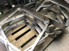 Welding sheet metal light fittings in Great Britain - Mild Steel Sheet, Steel Sheet Metal, Sheet Metal Work, Sheet Metal Fabrication, Lighting Companies, Hanging Canvas, Light Project, How To Make Light, Light Fittings