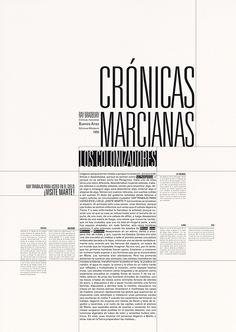 Programa de página realizado para la materia Tipografía 2 - Cátedra Longinotti, FADU.
