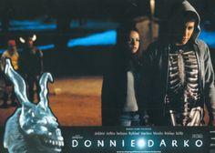 BROTHERTEDD.COM - Donnie Darko lobby cards Donnie Darko, Concert, Cards, Movies, Movie Posters, Films, Film Poster, Concerts, Cinema