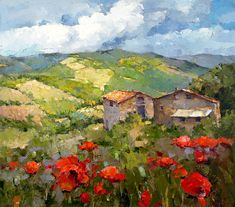 Chianti in spring - Alexi Zaitsev - Sale of paintings and other art works