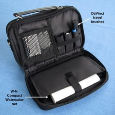 I've been looking for a new carrier for my travel art supplies lately, and I think I've found everything I need wrapped up in one compact pa...
