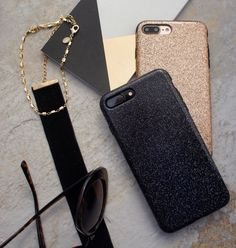 Black and gold ✨ Glam Case for iPhone 7 & iPhone 7 Plus from Elemental Cases