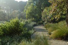 Australian garden by Rick Eckersley, Musk Cottage, Flinders