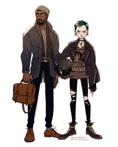 designing some characters from The Girl with the Dragon Tattoo ✌ here's Mikael and Lisbeth Character Drawing, Character Illustration, Illustration Art, Character Creation, Character Concept, Pretty Art, Cute Art, Oc Manga, Arte Indie