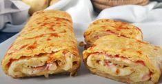 Sandwich Jamon Y Queso, The Kitchen Food Network, Rigatoni, Spanish Food, Prosciutto, Empanadas, Deli, Food Network Recipes, Bread Recipes