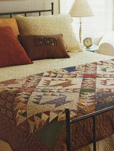 Flying Geese Baskets Quilt Pattern Pieced KB