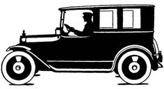 Image result for 1920s car silhouette