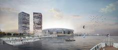 Masterplan Feyenoord City Rotterdam OMA