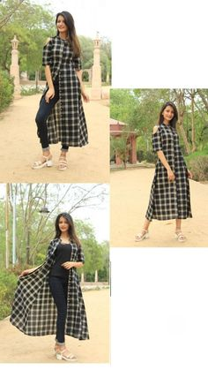 for dresses, Kurti designs party wear, Fashion The post appeared. Shrug For Dresses, Indian Gowns Dresses, Indian Fashion Dresses, Indian Designer Outfits, Short Sleeve Dresses, Dresses With Sleeves, Stylish Kurtis Design, Stylish Dress Designs, Designs For Dresses